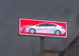 שלטי לד לסוכנויות רכב